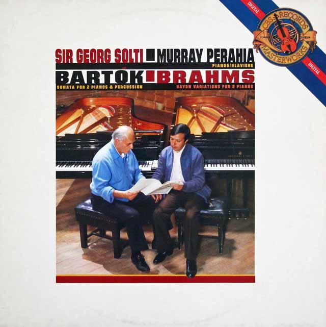 LP レコード ペライア&ショルティのバルトーク/2台のピアノと打楽器の ...