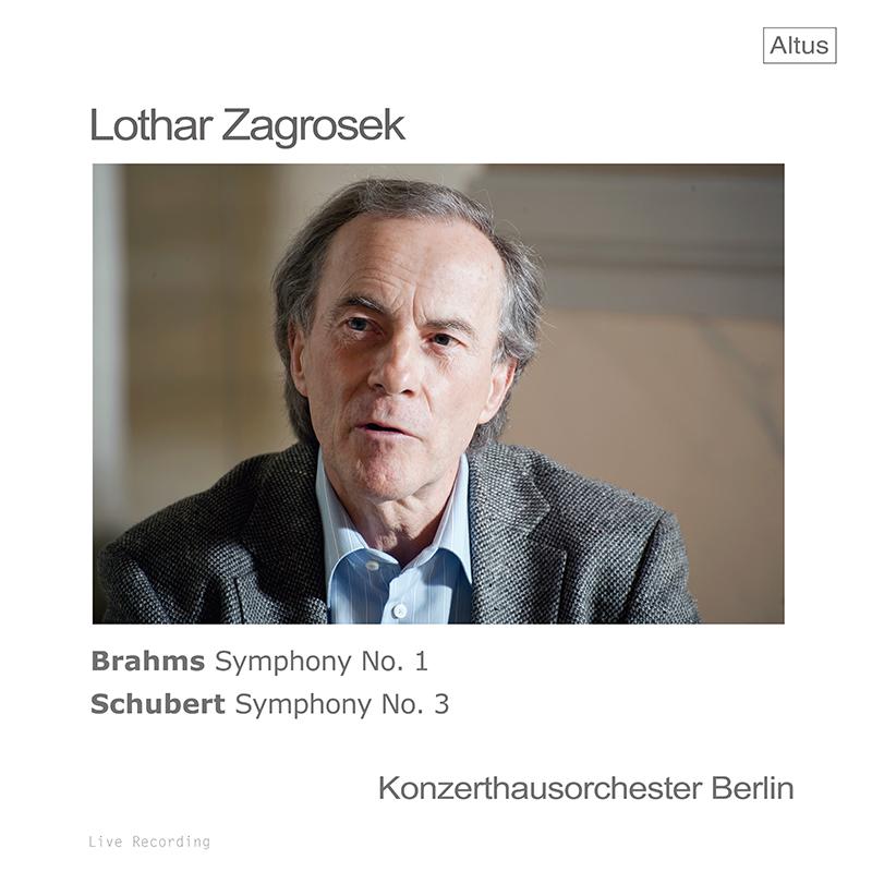 ツァグロゼクのブラームス/交響曲第1番ほか