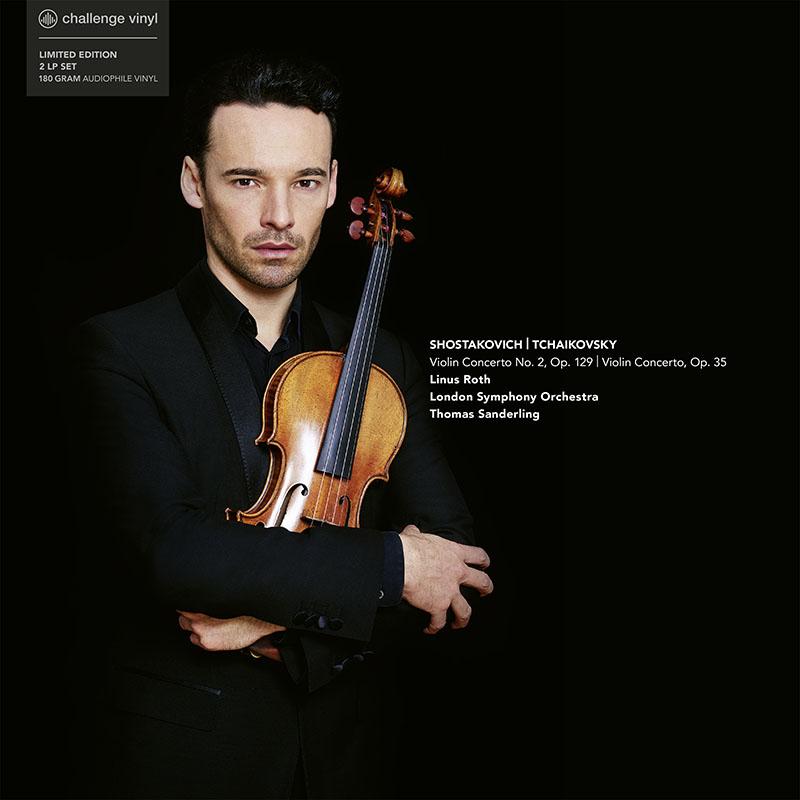 リナス・ロスのショスタコーヴィチ&チャイコフスキー/ヴァイオリン協奏曲集