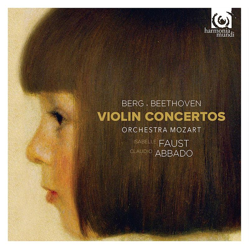 ファウスト&アバドのベルク&ベートーヴェン/ヴァイオリン協奏曲集