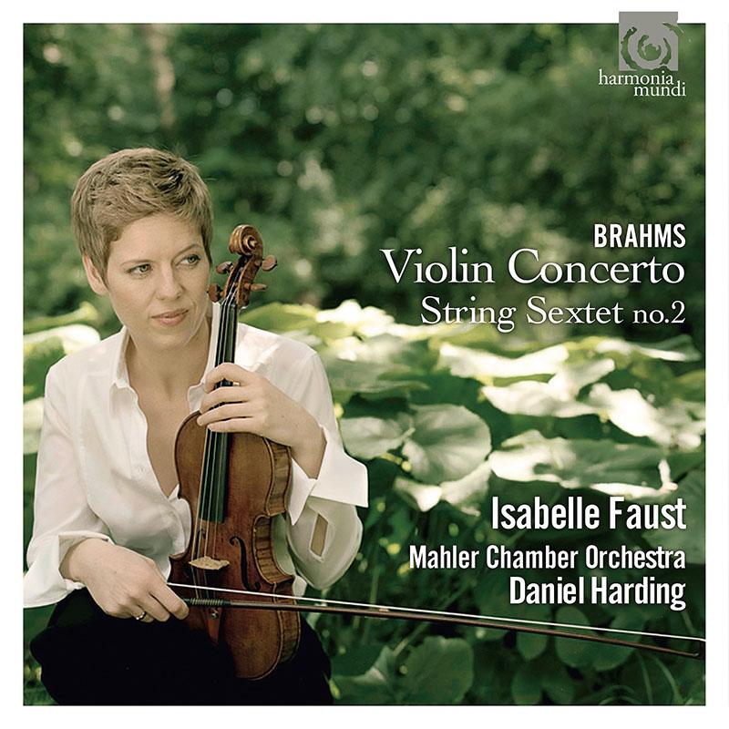 ファウスト&ハーディングのブラームス/ヴァイオリン協奏曲ほか