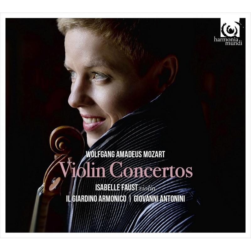ファウストのモーツァルト/ヴァイオリン協奏曲全集