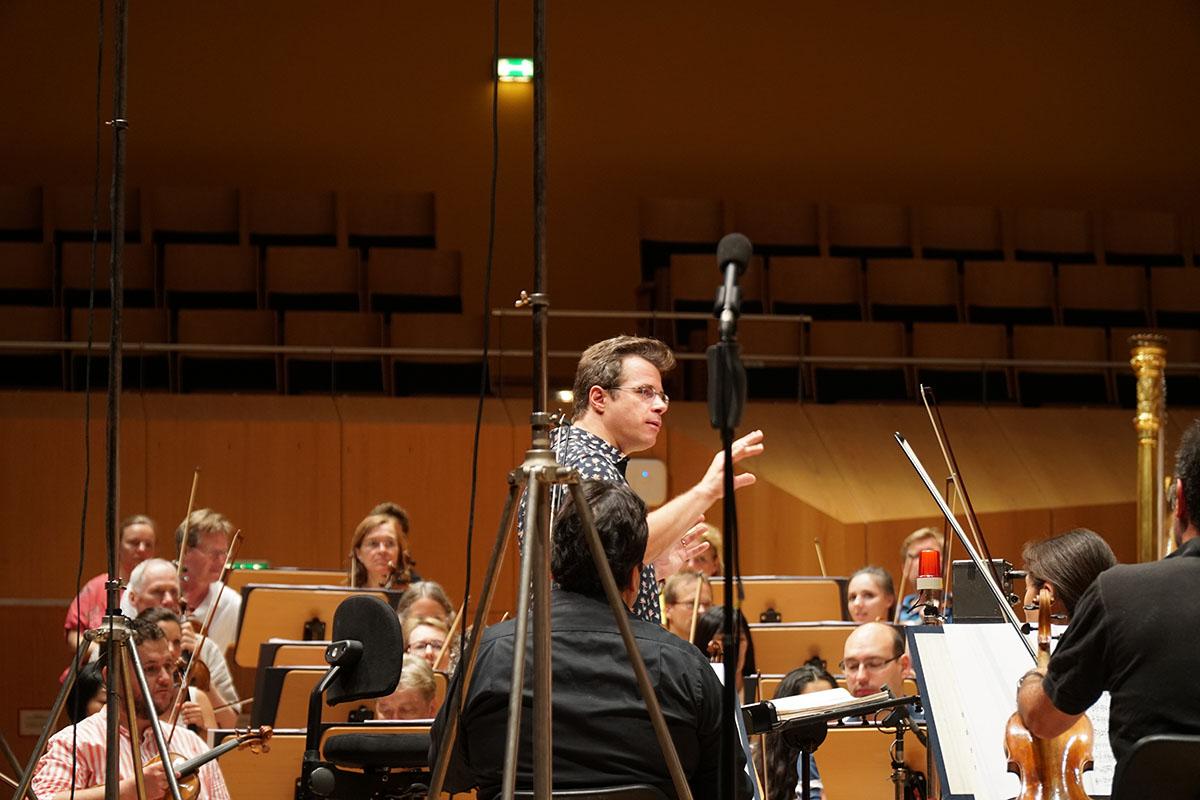 フルシャ&バンベルク響のスメタナ/連作交響詩「わが祖国」 2録音風景