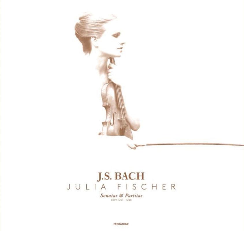 ユリア・フィッシャーのバッハ/無伴奏ヴァイオリンのためのソナタとパルティータ(全6曲)