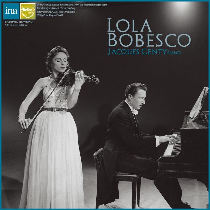 ボベスコのプロコフィエフ/ヴァイオリンソナタ第2番&ブラームス/ヴァイオリンソナタ第3番 1960年&57年セッション録音
