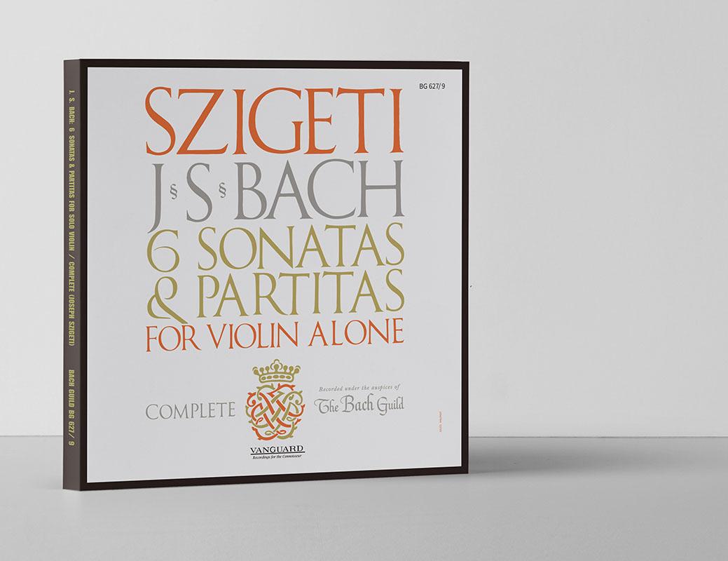 シゲティのバッハ/無伴奏ヴァイオリンのためのソナタとパルティータ