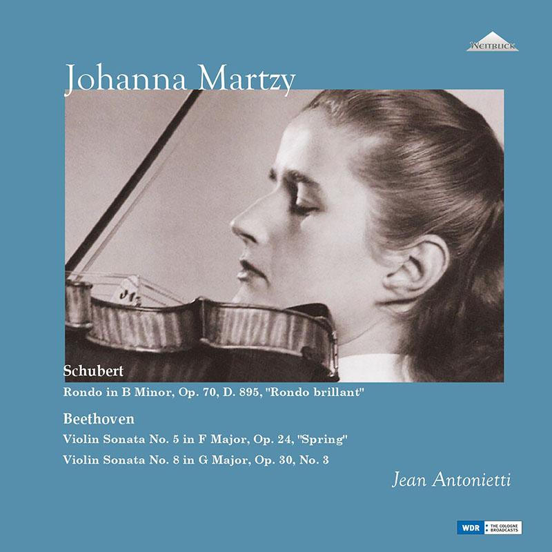 マルツィのベートーヴェン/ヴァイオリン・ソナタ第5番「春」ほか 未発表スタジオ録音集