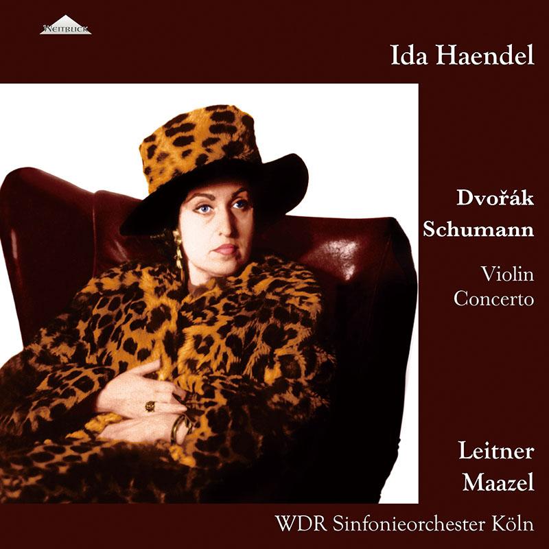 イダ・ヘンデルのドヴォルザーク&シューマン/ヴァイオリン協奏曲集